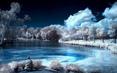 Color nature lakes nature background wallpapers on - Best site to download anime wallpapers ...