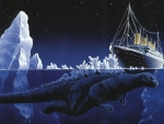 Godzilla titanic