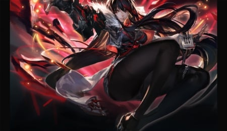 Red Anime Dragon Knight Www Picturesso Com