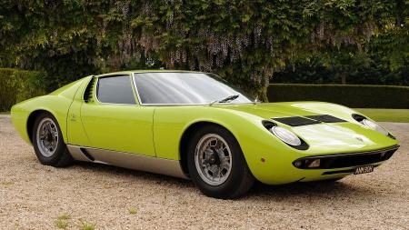 1969 Lamborghini Miura Sv Lamborghini Cars Background Wallpapers