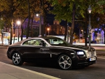 rolls royce in the city