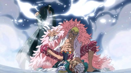 Kuzan Vs Doflamingo One Piece Wallpapers And Images