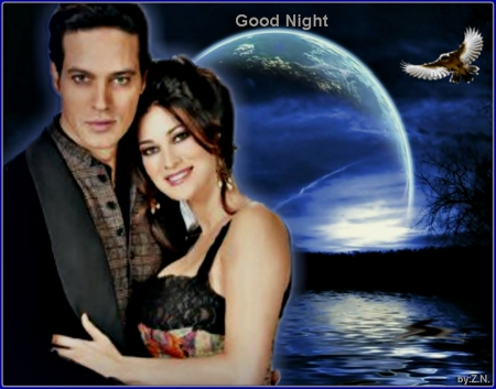 Gabriel Garko and Manuela Arcuri - Manuela Arcuri, people, Gabriel Garko, good night, actors