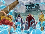 Luffy and the 3 Admirals