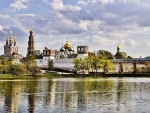 fabulous novodevichy monastery in moscow