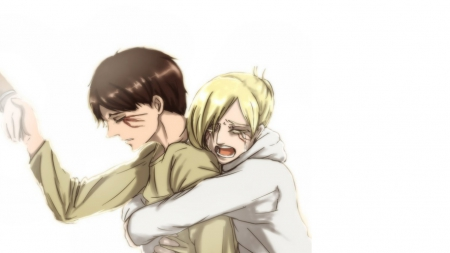 Attack On Titan Annie And Eren Other Anime Background Wallpapers On Desktop Nexus Image 1662488