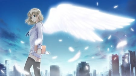 Angel - tokyo label, game cg, visual novel, angel