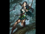 Wood Elf Archer