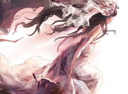 Dark Wedding - anime, dark, sunlight, sad, wedding, blood