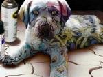 graffiti puppy