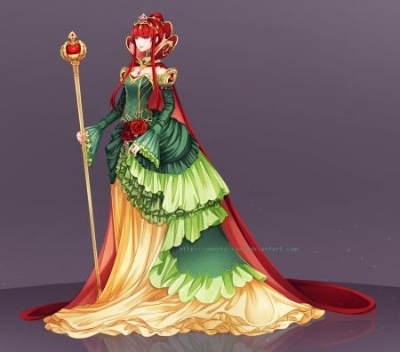 Red Queen Other Anime Background Wallpapers On Desktop Nexus