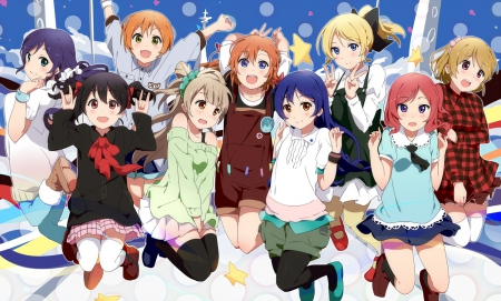 Love Live Other Anime Background Wallpapers On Desktop Nexus Image 1665210