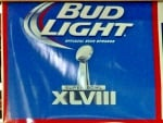 Bud Light Super Bowl 48 Display