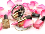 Pink Petals and Cosmetics