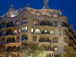 a marvelous apartment building by antoni gaudi