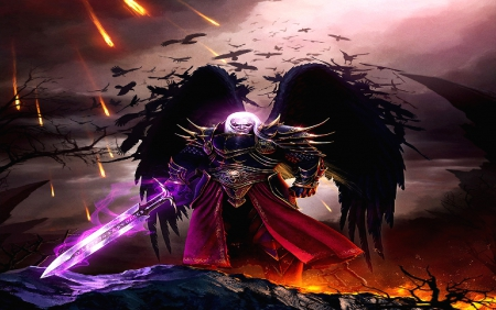 Demon Knight Fantasy Abstract Background Wallpapers On Desktop