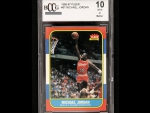 Michael Jordan 1986-1987 Fleer Rookie Card