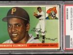 Roberto Clemente 1955 Topps baseball card