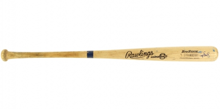 Darryl Strawberry signed baseball bat not for sale - mlb, hobby, major league baseball, baseball bat image