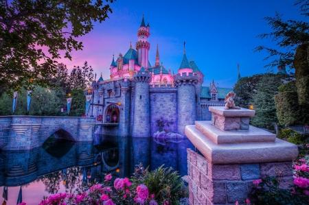 Disneyland Pink Castle