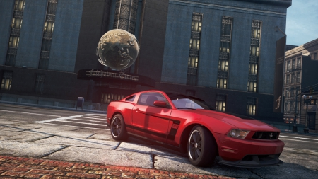 Ford Mustang Boss 302 - mustang, most wanted, boss, ford, need for speed, 302