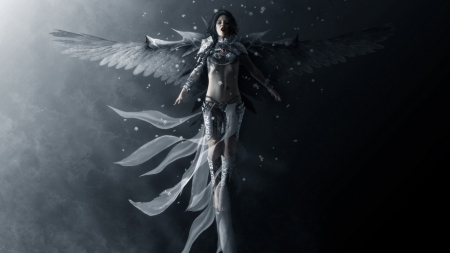 Fallen Angel Fantasy Abstract Background Wallpapers On