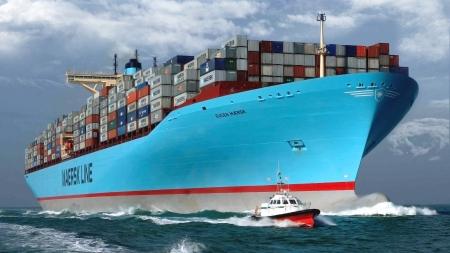 Eugen Maersk - Commercial & Boats Background Wallpapers on Desktop