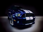Shelby Mustang Dark Blue Front