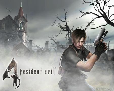 Resident Evil 4: Grave Yard - resident evil, games