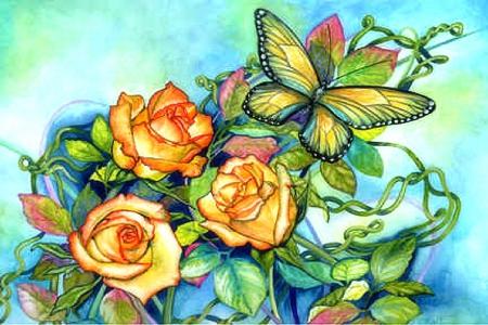 Beautiful Wings On Petals Flowers Nature Background Wallpapers On Desktop Nexus Image 1670054,Tapered Rectangular Lamp Shades Uk