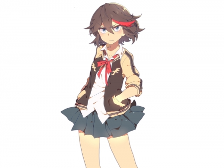 Ryuko Matoi - red, kill, extention, black, KIll, cute, hair, la, anime