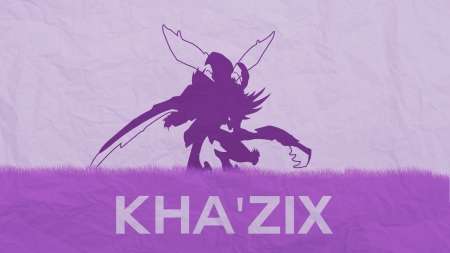 Khazix Purple - League, Khazix, League of legends, Legends