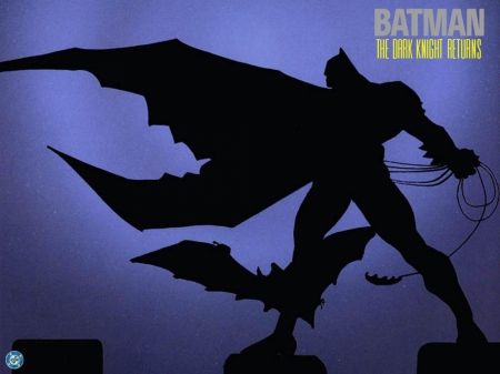 Batman the dark knight returns - dark knight, batman, bats, dark hero