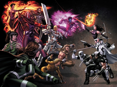 Uncanny X Force Other Entertainment Background