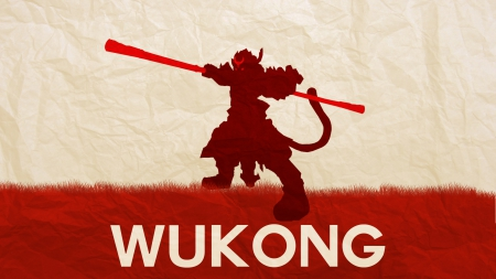Wukong Paper - Legue, League of legends, Lol, Wukong