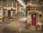 street scenes - cafe corner