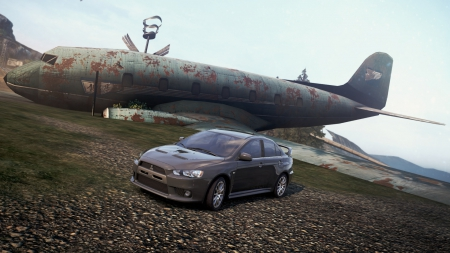 Mitsubishi Lancer Evolution X - most wanted, mitsubishi, need for speed, evolution x, lancer
