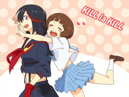 Ryuko Mako Best Friends Other Anime Background