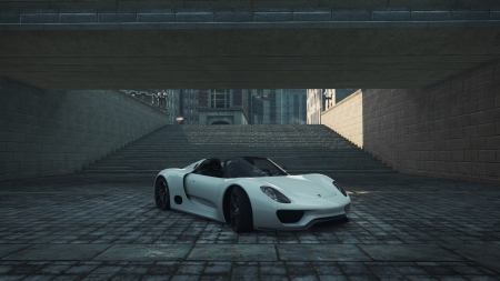 Porsche 918 Spyder Concept - most wanted, concept, porsche, need for speed, spyder, 918