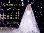 Roselbell Rafferr November Calendar