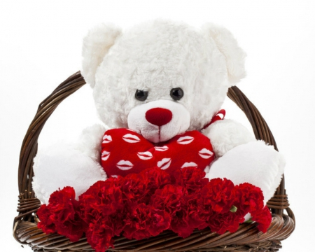 Flowers And Teddy Teddy Bears Wallpapers And Images Desktop