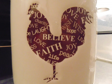 Gallus - gallus, believe, faith, love