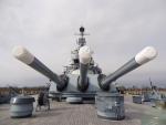 The Battleship U.S.S. North Carolina's Big 16 Inch Guns