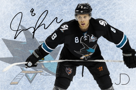 Joe Pavelski SS - joe, series, jose, sharks, san, pavelski, signature