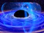 black hole with jets