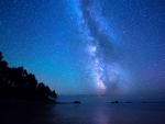 Milky Way and Stardust Beach