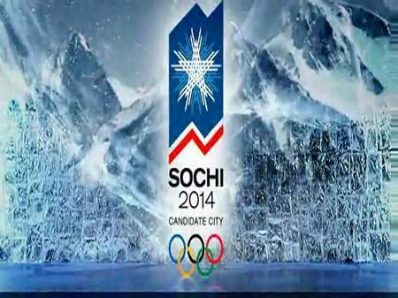 2014 Olympics - Olympic rings, mountains, olympics, Sochi