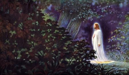 Jesus prayer in the garden - Jesus Christ, the Lord