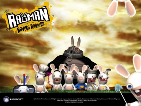 Rayman Raving Rabbids Other Video Games Background Wallpapers On Desktop Nexus Image 1679377