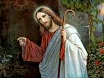 Jesus knocks the door